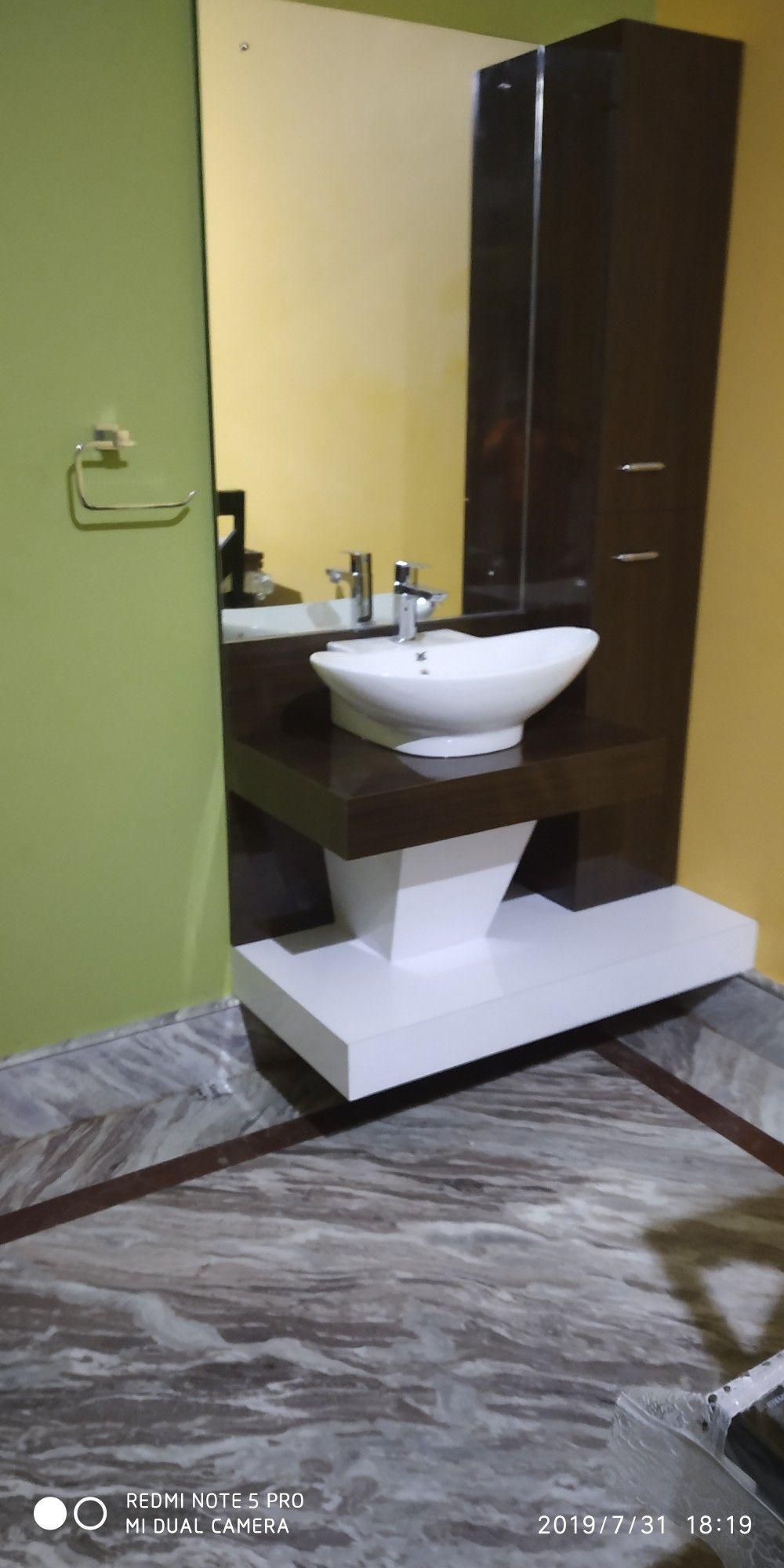 Dining hall wash basin with cabinet | Wash basin, Basin ...