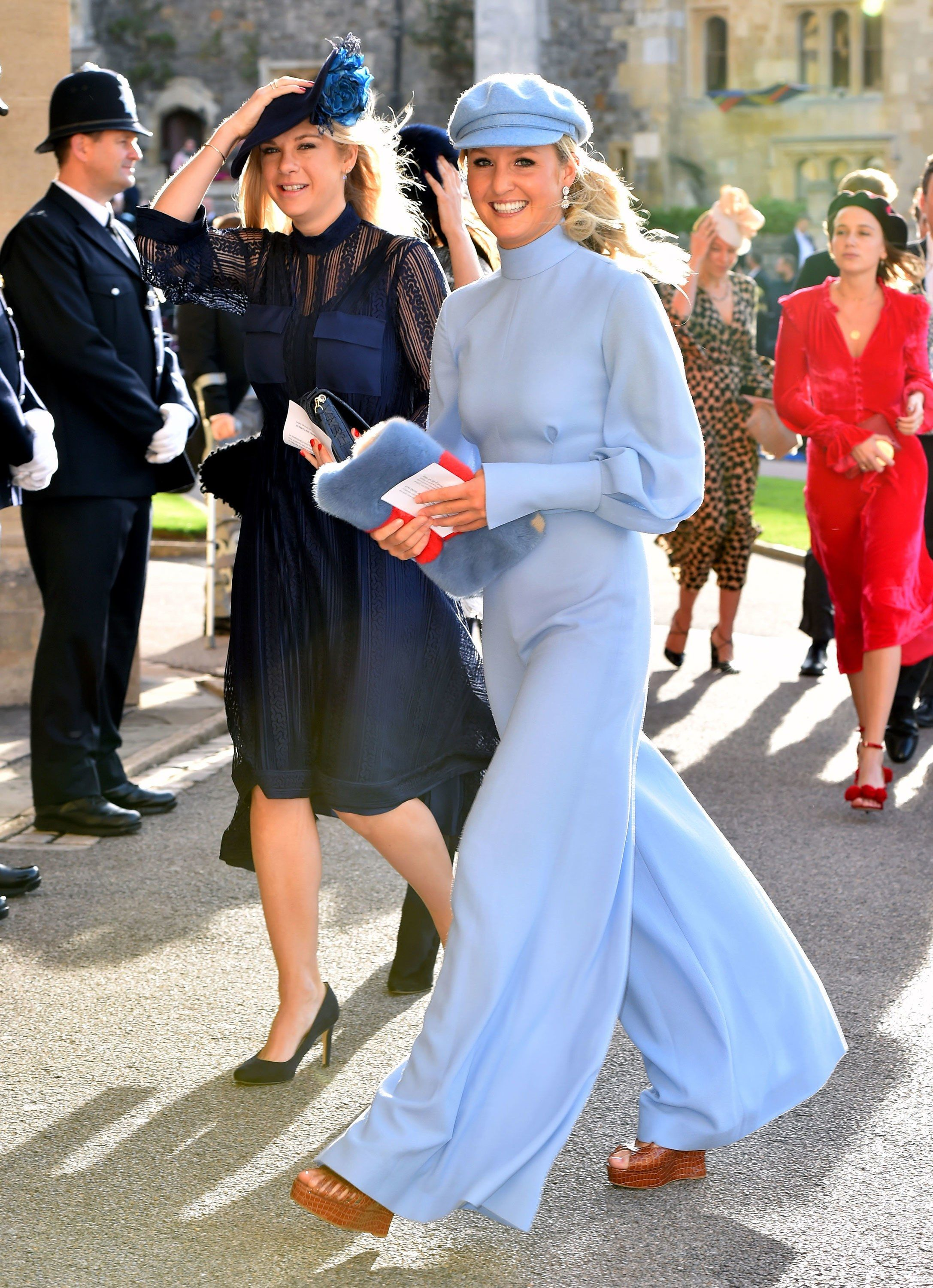 16e8dc2f All the Glamorous Celebrity Guests at Princess Eugenie's Wedding: Naomi  Campbell, Kate Moss, Liv Tyler, and More