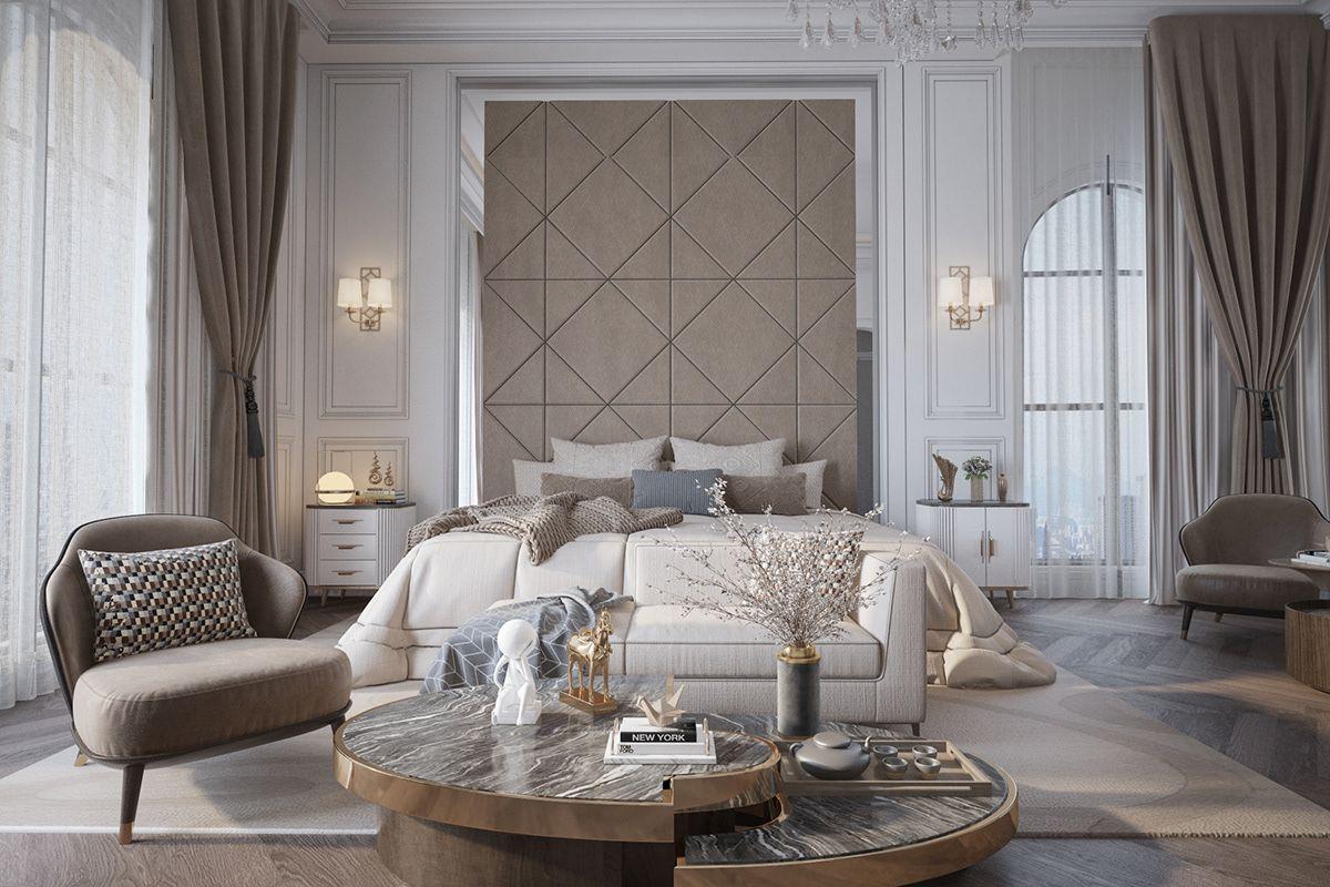 Master Bedroom On Behance Kamar Tidur Yang Indah Desain Interior Kamar Mewah Luxury bedroom design desain