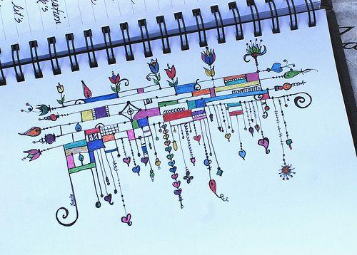 Art Journal - Zenspirations Dangles