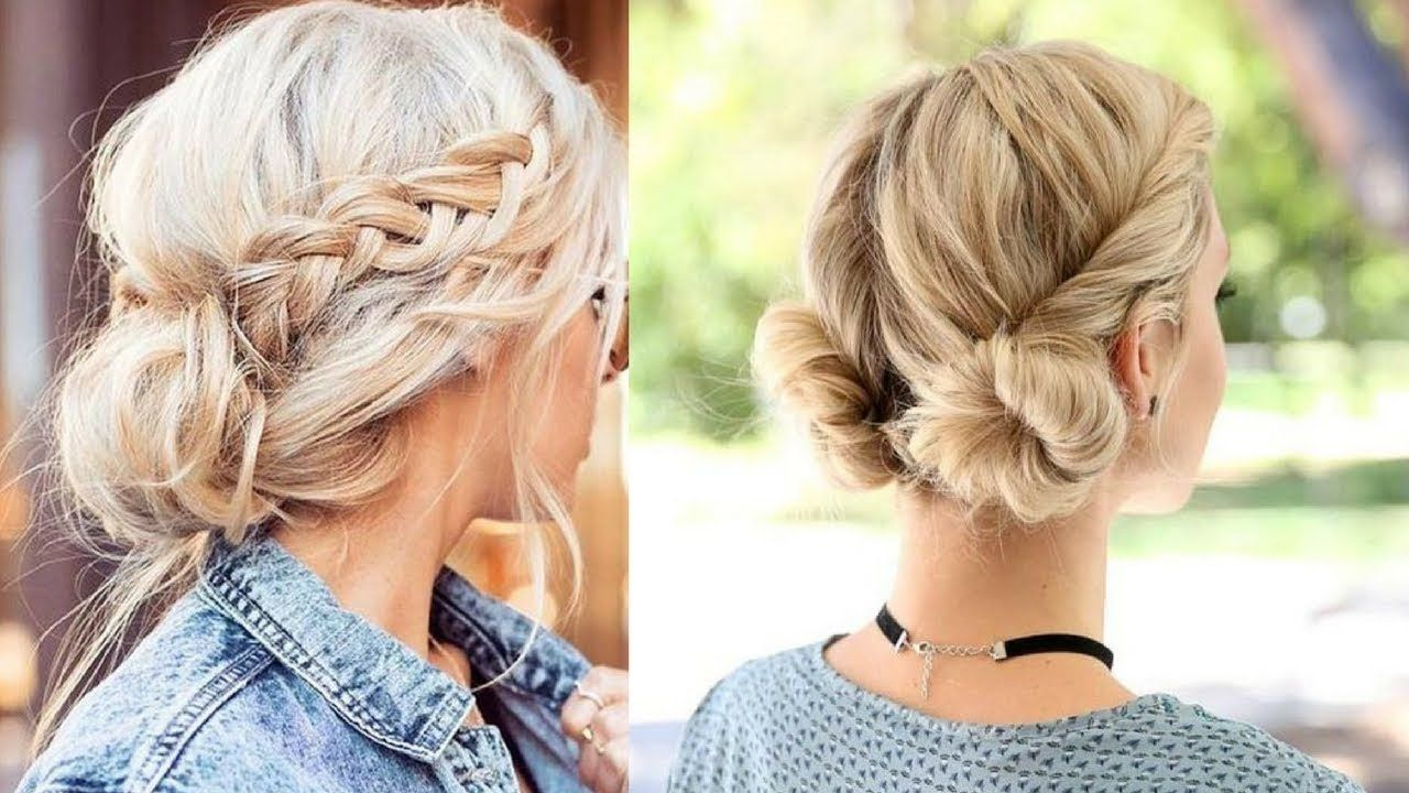Quick And Easy Hairstyles Hairstyle Tutorial Compilation For