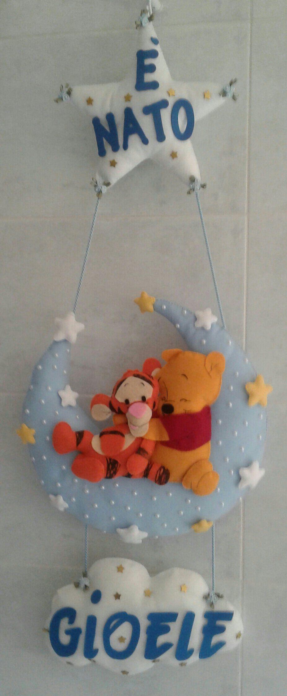 Photo of Arco di nascita di orsacchiotto e ghirlanda di tigri, coccarda di luna con stelle