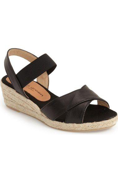 8b3e8b85629 patricia green 'Abbie' Wedge Sandal (Women) available at #Nordstrom ...