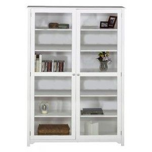 Oxford 48 W 6 Shelf Bookcase With Glass Doors Bookcase Bookshelves Homedecorators Com Bookcase With Glass Doors White Bookcase Bookcase White bookcase with glass doors