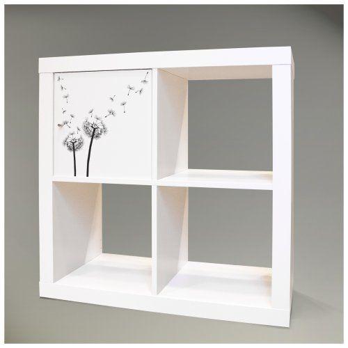 Möbelsticker für IKEA EXPEDIT (Kallax) Regal 32,6x32,6cm mit Motiv: Pusteblume 2 banjado http://www.amazon.de/dp/B00I4S4DP8/ref=cm_sw_r_pi_dp_rEFvvb1B8GNZ1