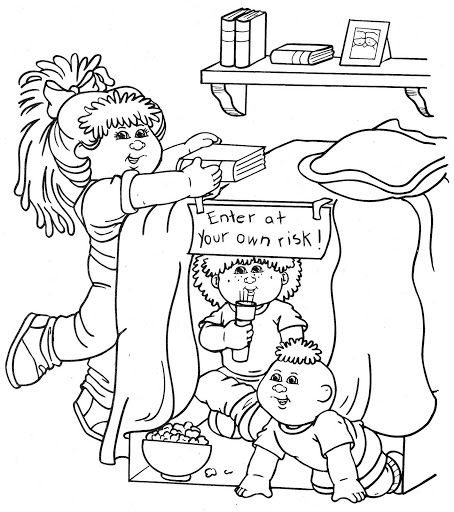cabbage patch kids coloring pages   cabbage patch kids bk 2 0153 ...