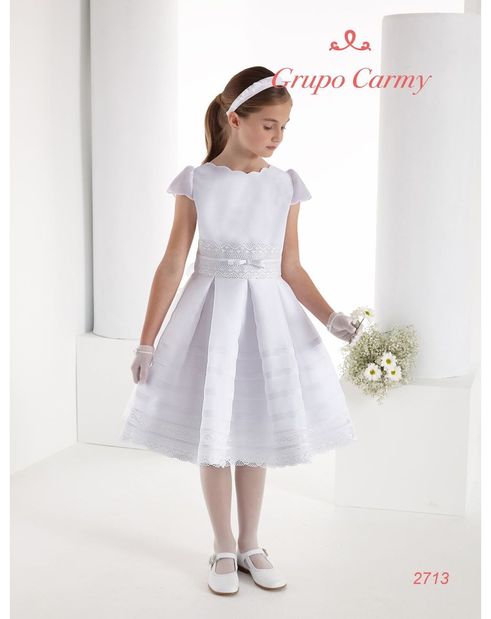 NEW FOR 2021 Communion Dress Carmy 2713 in 2020