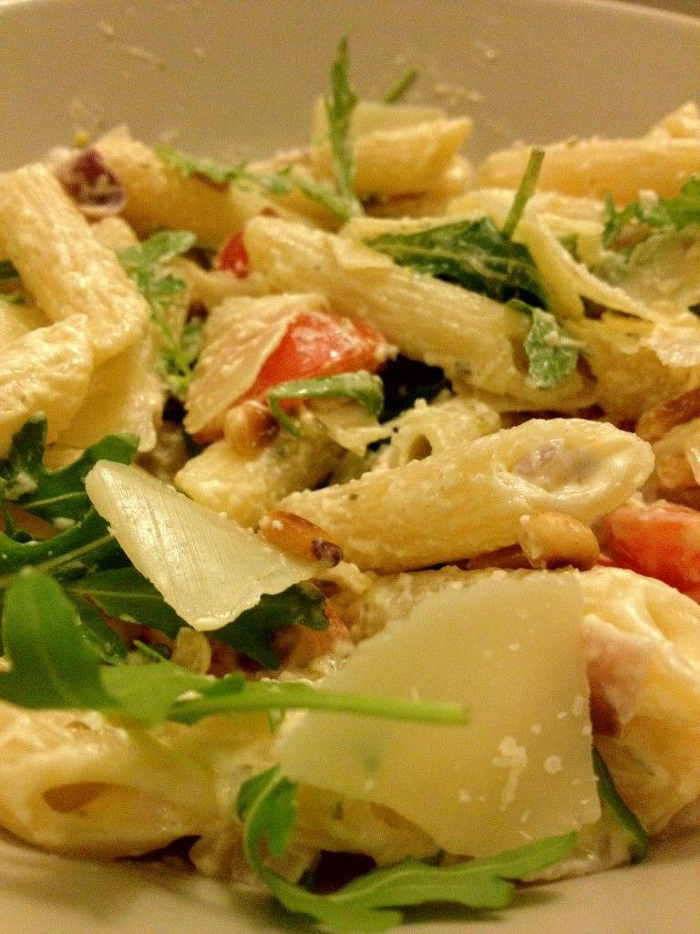 Eenvoudige pasta met boursin - Lekker en Simpel