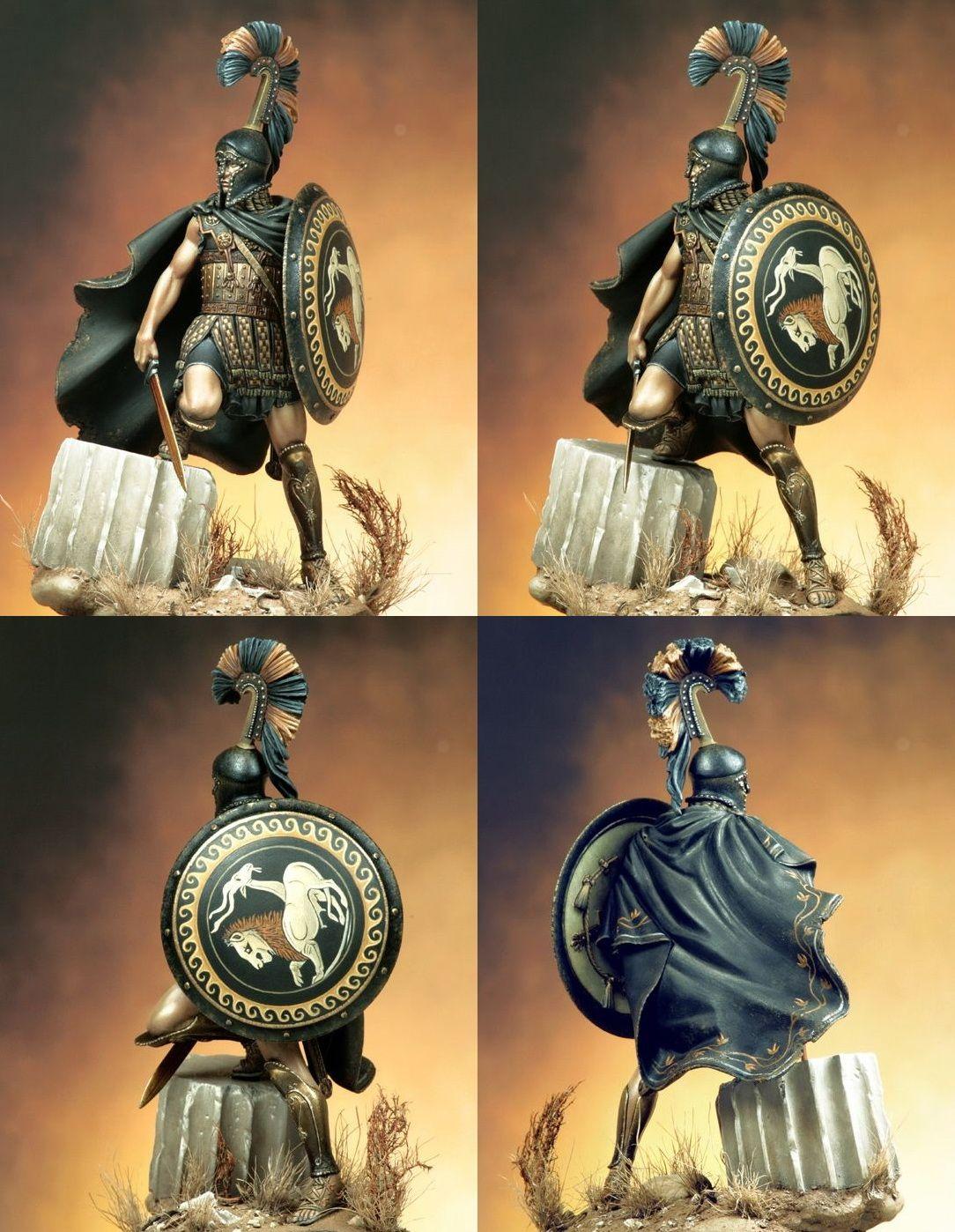 Греческий гоплит-наемник V cen. B.C. | Figuras militares | Pinterest ...
