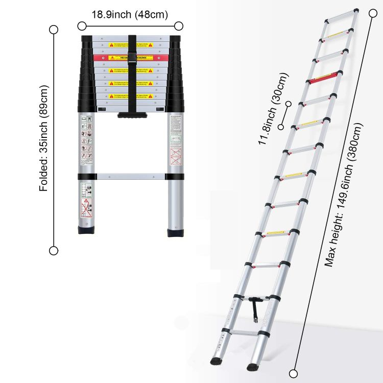 The 12 Best Extension Ladder Reviews In 2020 Best Market Reviews In 2020 Aluminium Ladder Ladder Retractable Ladder