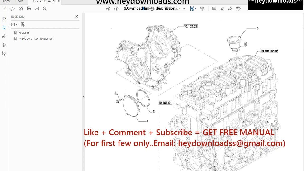 Case Sv300 Skid Steer Loader Parts Catalog Manual Pdf Skid Steer Loader Parts Catalog Manual