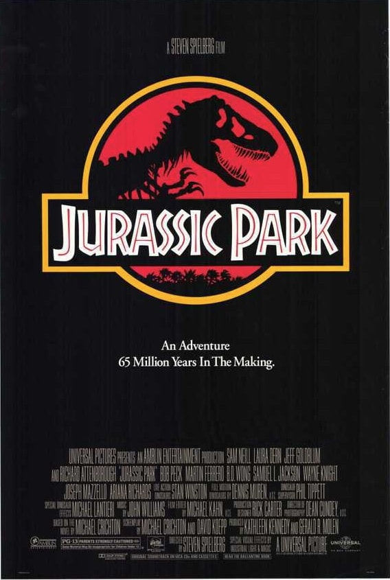 How To Make A Movie Poster Free Poster Template Jurassic Park Movie Jurassic Park 1993 Jurassic Park