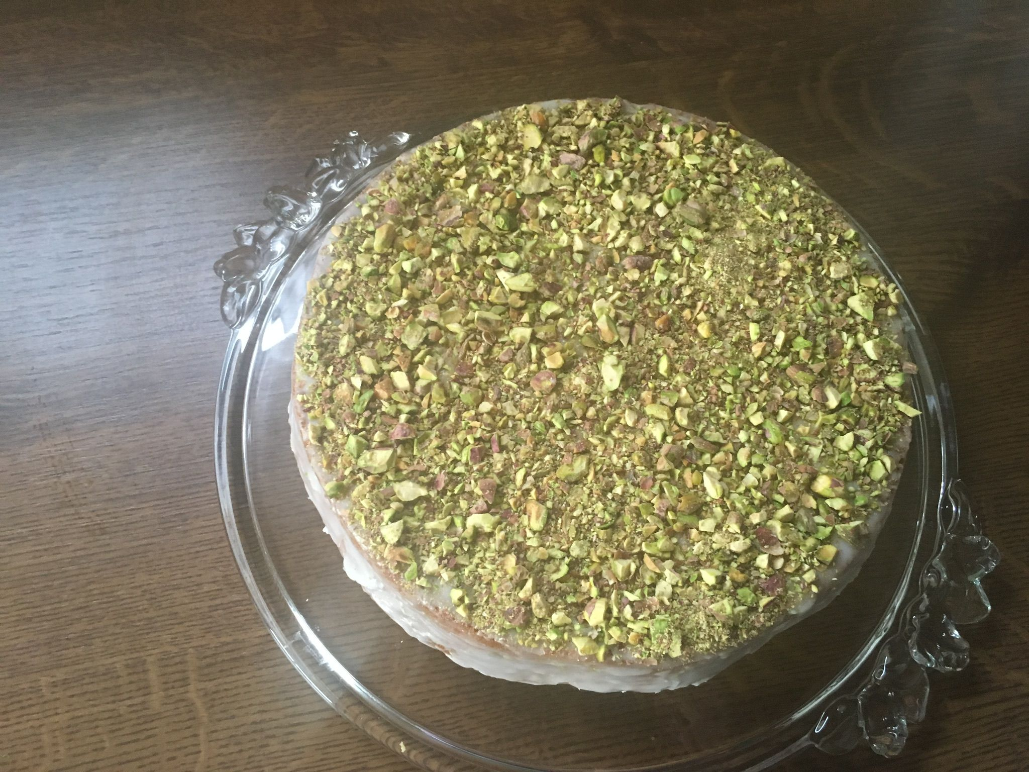 Advocado Pistazien-Torte