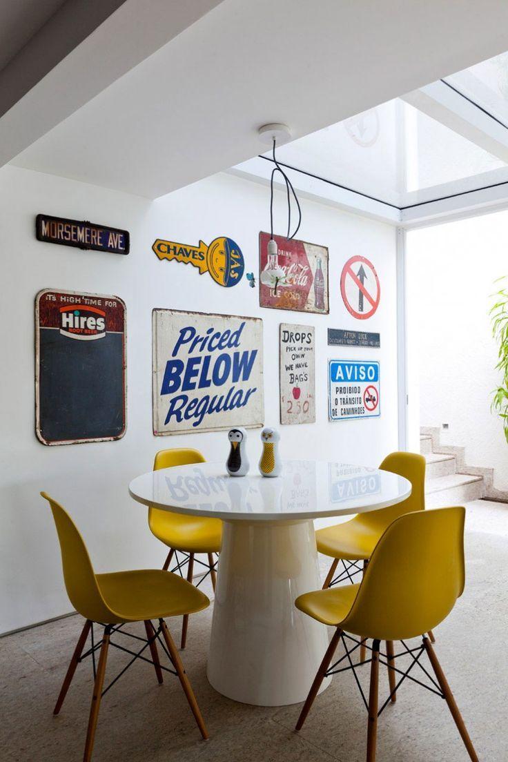 12 Ambientes Com Decora O Atual Em Amarelo Cadeiras Amarelas