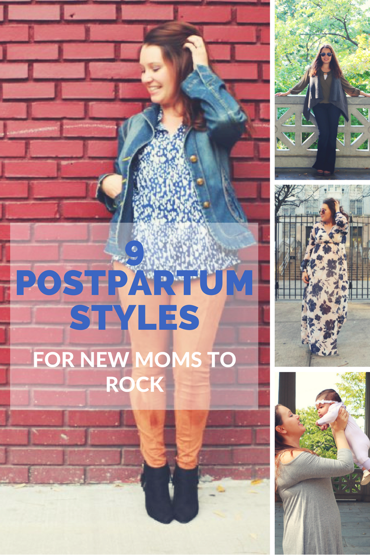 2b064bc29f4 Pregnancy Postpartum Style  Postpartum clothing can be difficult to  navigate