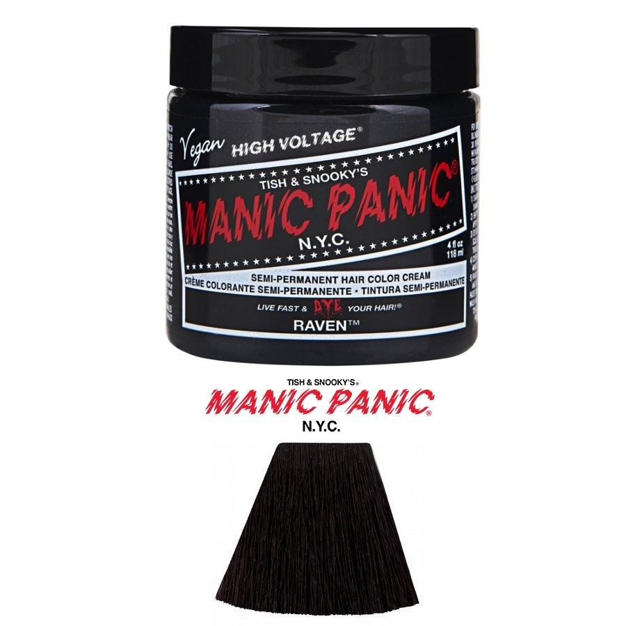 Manicpanic raven hair pinterest manic panic and hair coloring