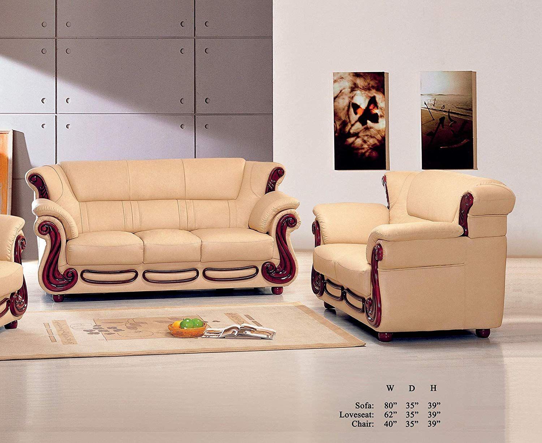 Enjoyable Esofastore Living Room Furniture Classic Contemporary Beige Bralicious Painted Fabric Chair Ideas Braliciousco