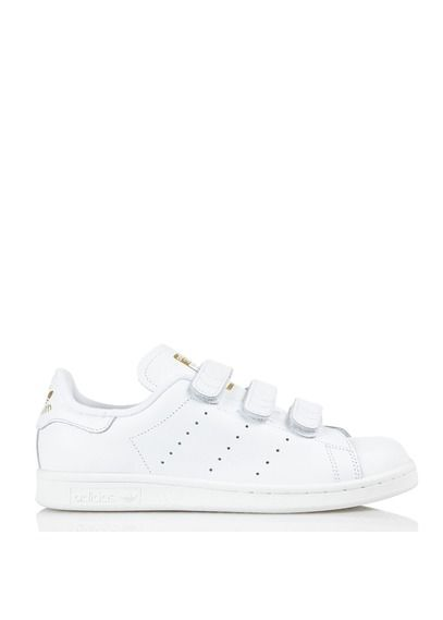 adidas Originals STAN SMITH Trainers weißgold Zalando