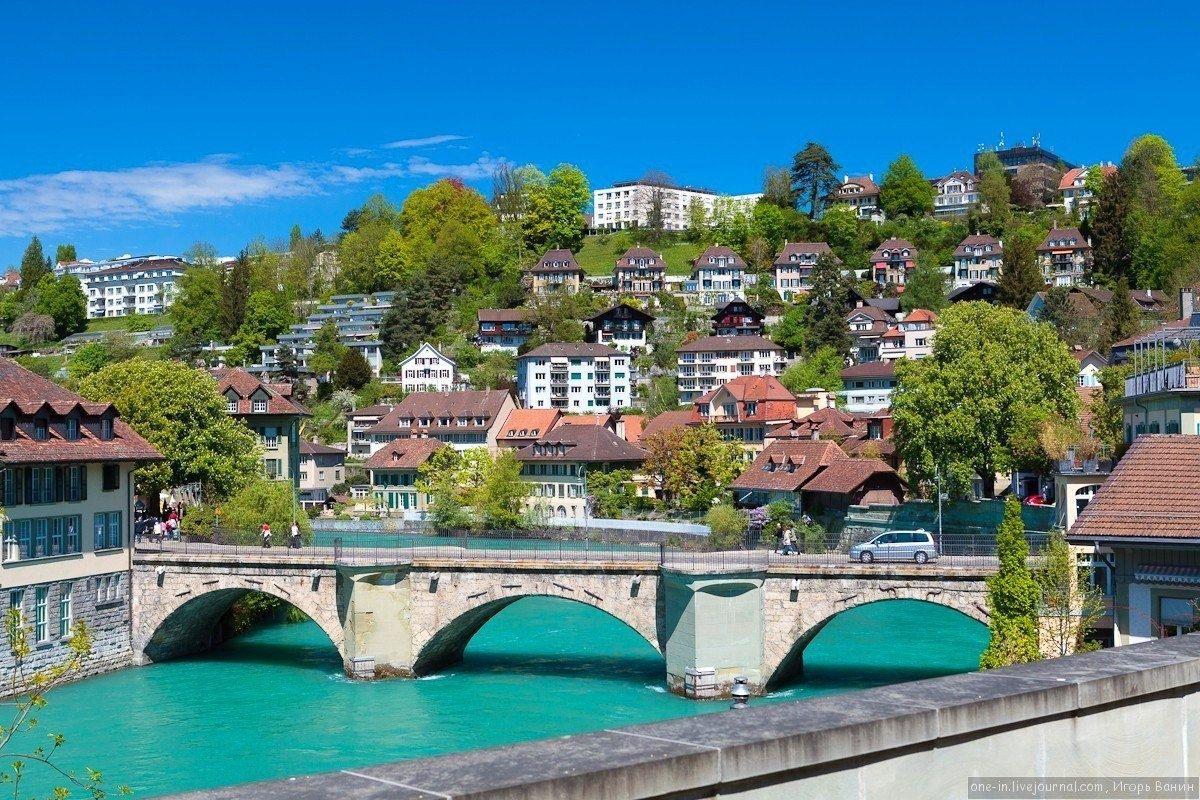 Берн, Швейцария - Путешествуем вместе