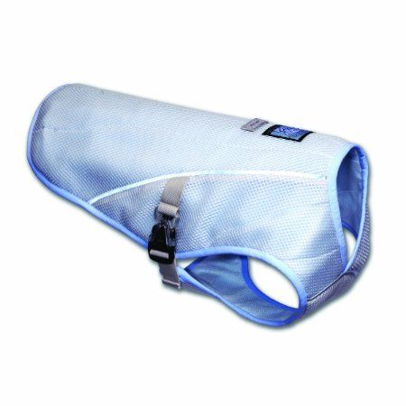 Amazon Com Ruffwear Swamp Cooler Cooling Vest For Dogs Ice Blue X Large Pet Supplies Dog Cooling Vest Swamp Cooler Cooling Vest