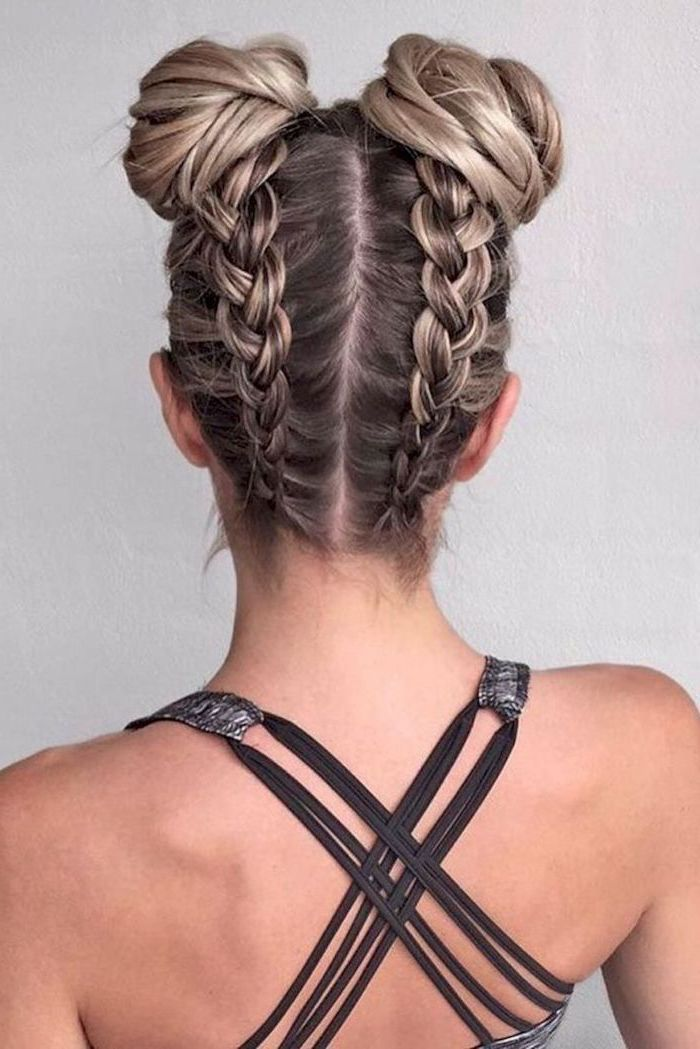 1001 Ideas For Braid Hairstyles To Keep You Cool This Summer With Images Medium Hair Styles
