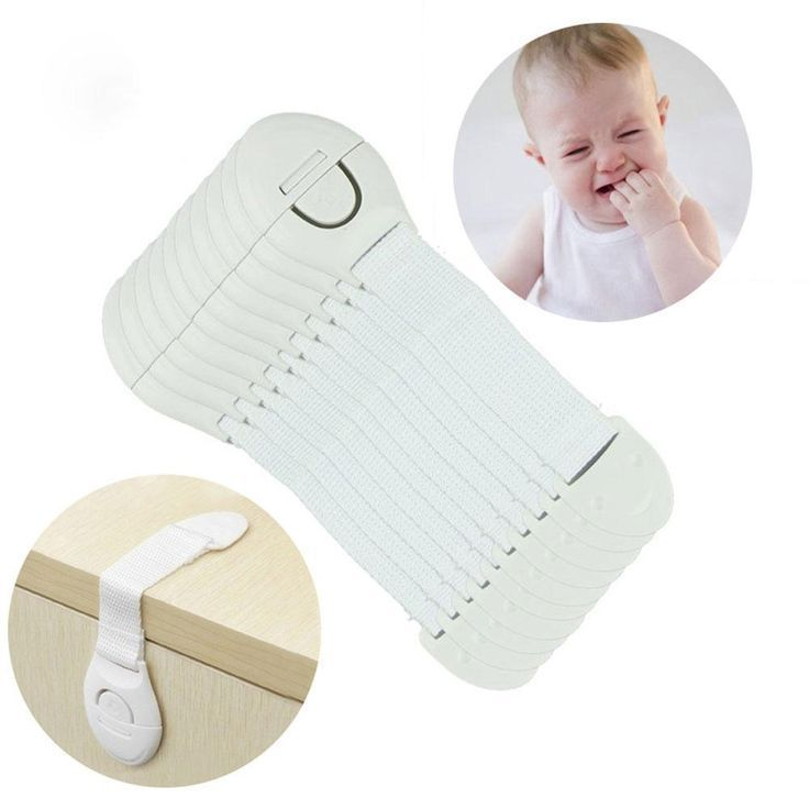 Cabinet/Drawer Safety Locks for Children (10Pcs)- Cabinet/Dr…
