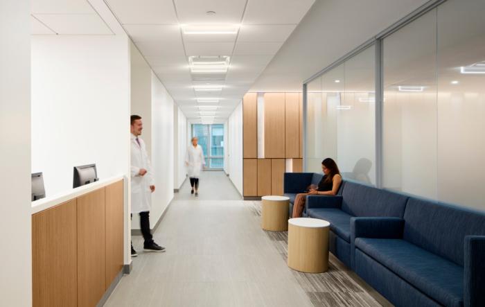 Nyu Langone Health Ambulatory Care Center Healthcare Snapshots Ambulatory Care Healthcare Interior Design Hospital Design