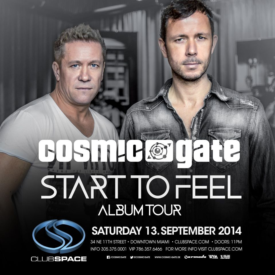 Win Tickets to Cosmic Gate at Club Space in Miami!