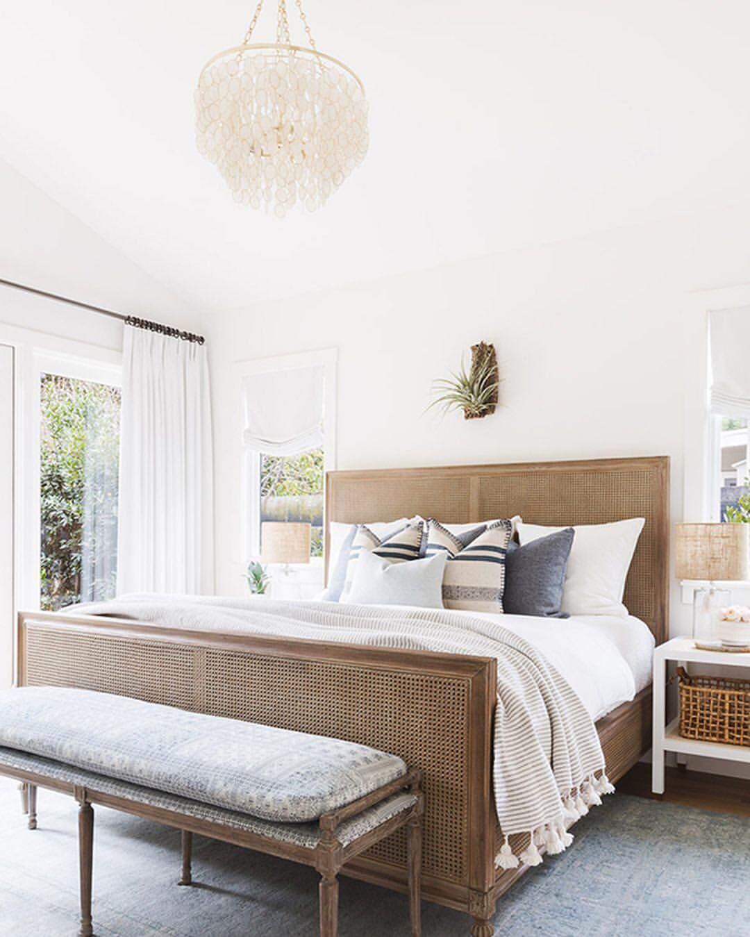 Joanna gaines master bedroom bedding  See this Instagram photo by mydomaine u  likes  Beach Home