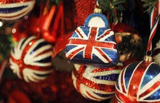 Brit Christmas Ornaments Christmas In England London Christmas Christmas Uk