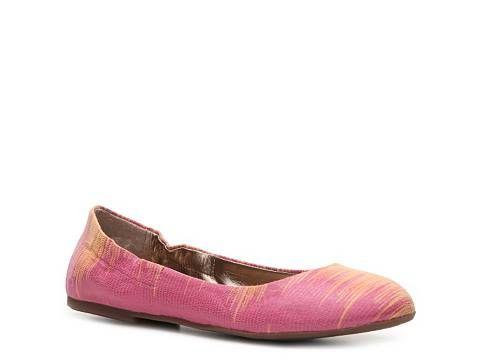 BCBG Paris Magie Reptile Flat Flats Women's Shoes - DSW
