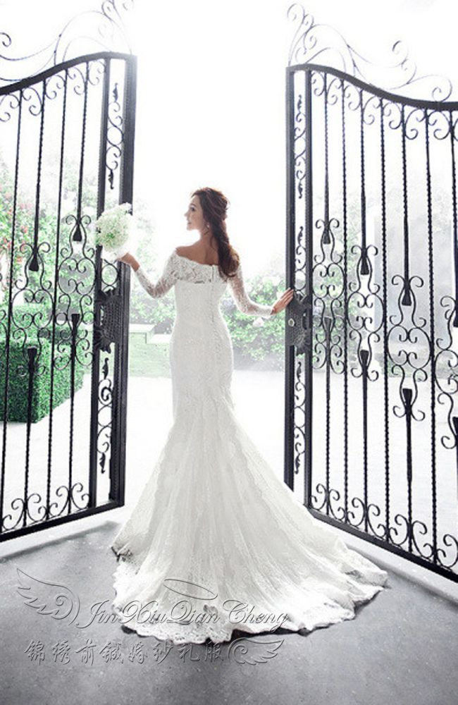 Aliexpress.com : Buy freeshipping Beautiful 2012 bride wedding formal dress lace wedding dress handmade beading strap style from Reliable Wedding Dresses suppliers on Oubing fashion store