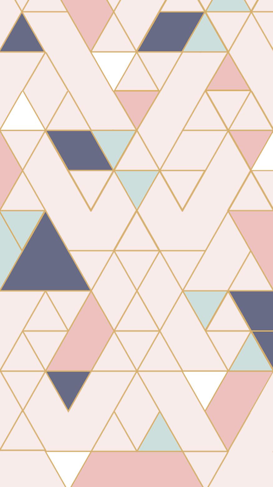 Wallpaper Mosaicos By Gocase Pastel Pink Wallpaper Iphone Wallpaper Pattern Pink Wallpaper Iphone
