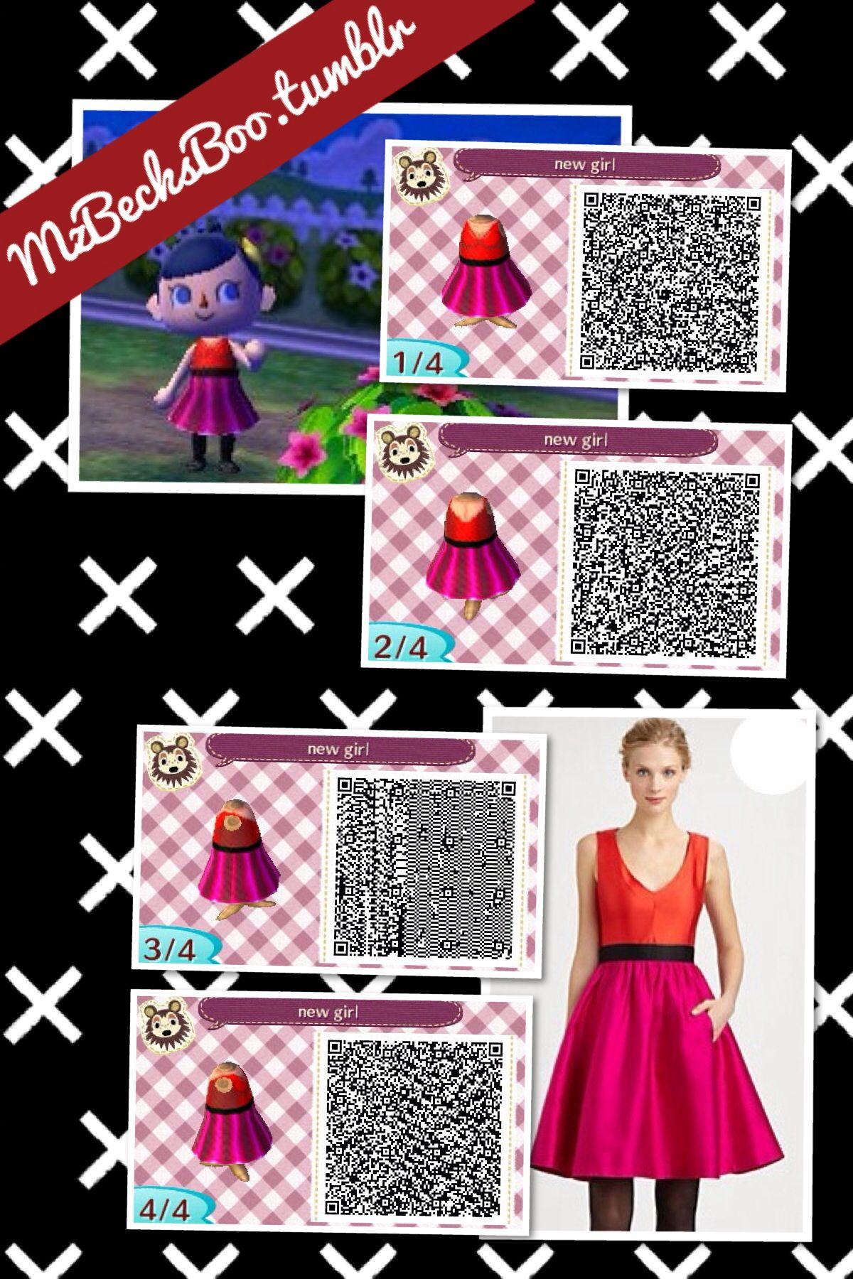 Mzbecksboo Tumblr Com Animal Crossing Qr Codes Animal