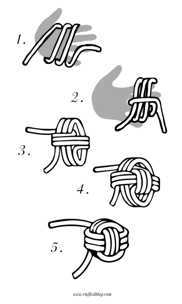 Diy Knot Pillow Tutorial Crafts 1 Pinterest Knot Pillow