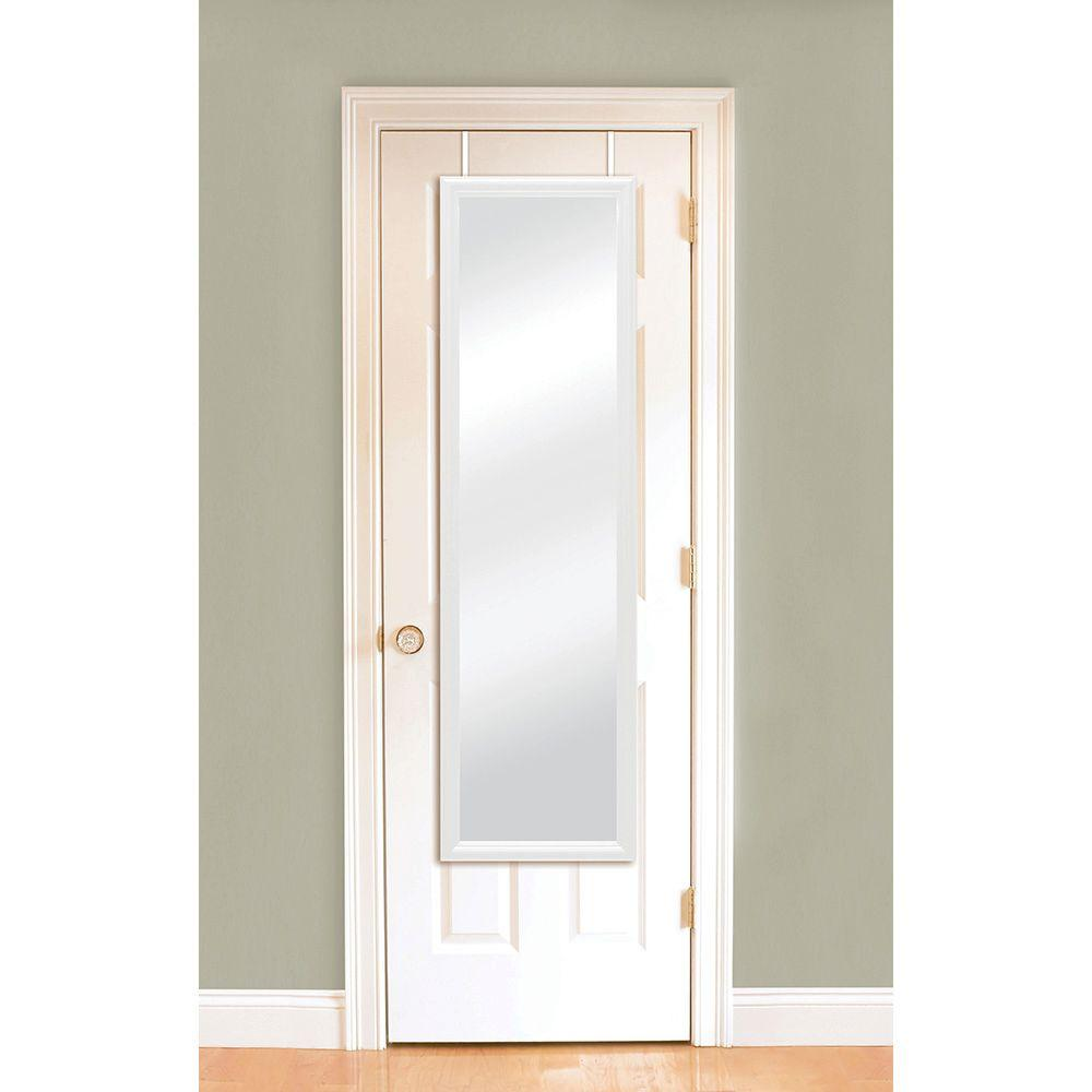 14 375 In W X 50 25 In H Door Mirror 72924 Over The Door Mirror Mirror Door Mirror
