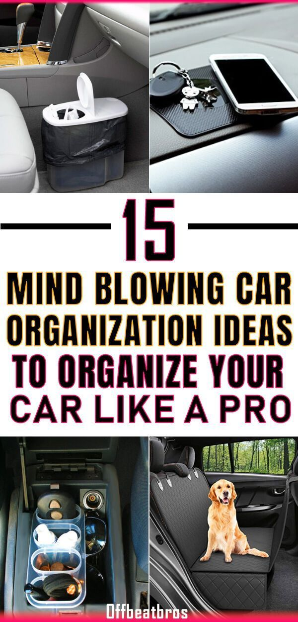 15 Car Organization Hacks You'd love to Try!