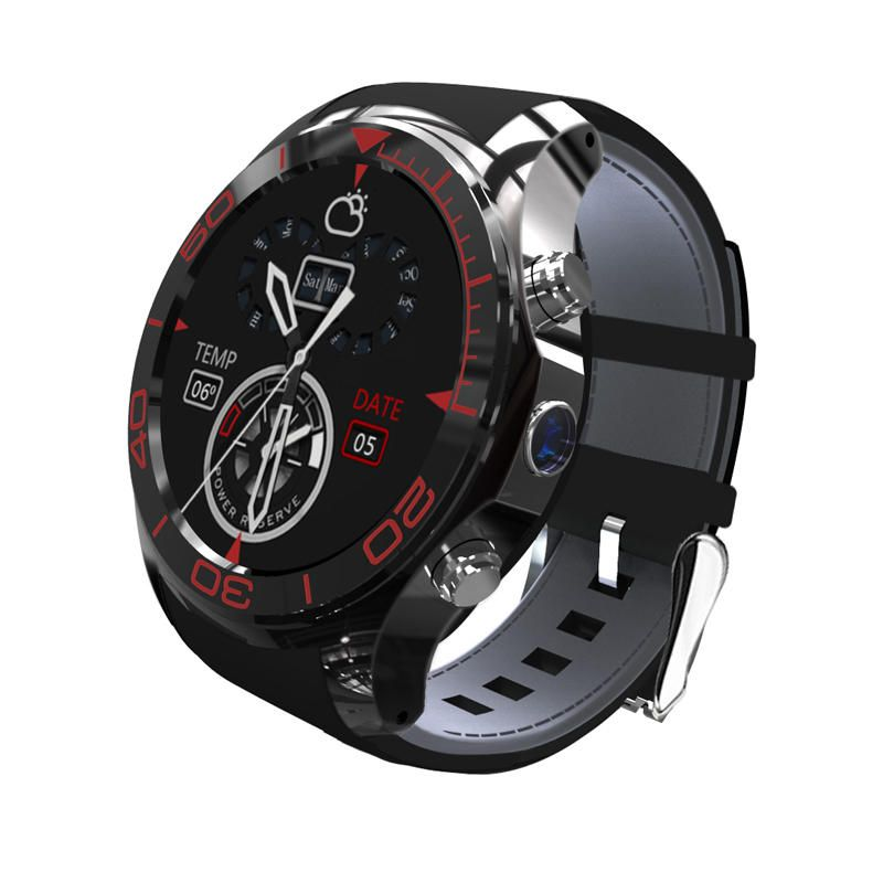 S1 3G 1.3inch GPS Pedometer 512MB 4G WIFI Camera Andriod 5.1 SIM Card Bluetooth Smartwatch Phone Sale - Banggood.com