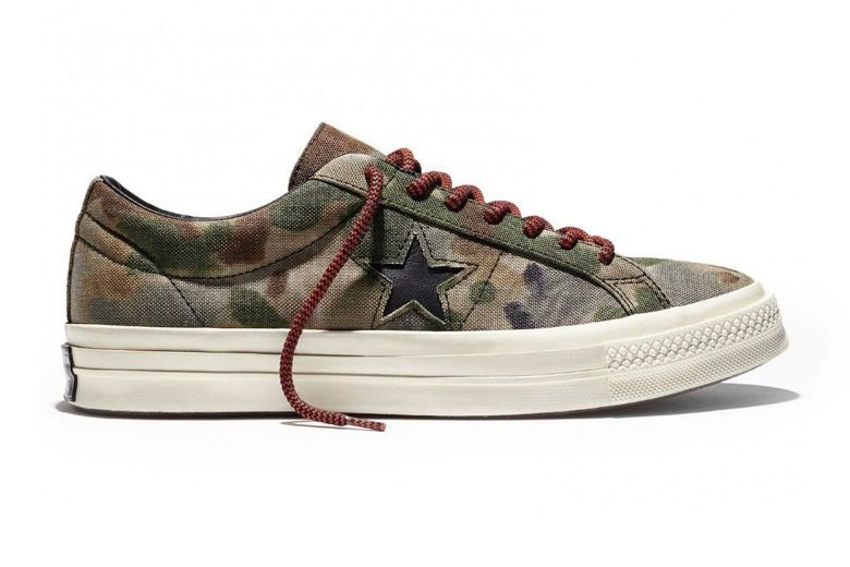 84108a7941110b Converse First String CONS One Star  74 Brookwood Camo Pack