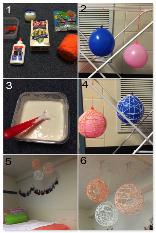 Dishes N Diys 3 Easy Dorm Room Crafts