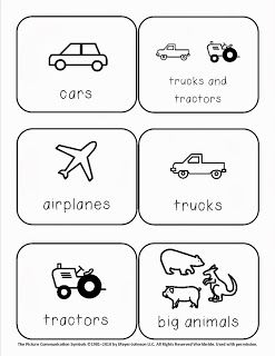 {free} toy bin labels for autism classroom from It's