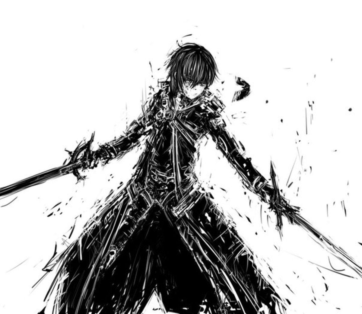 Kirito Kun Wish Swords Wallpaper