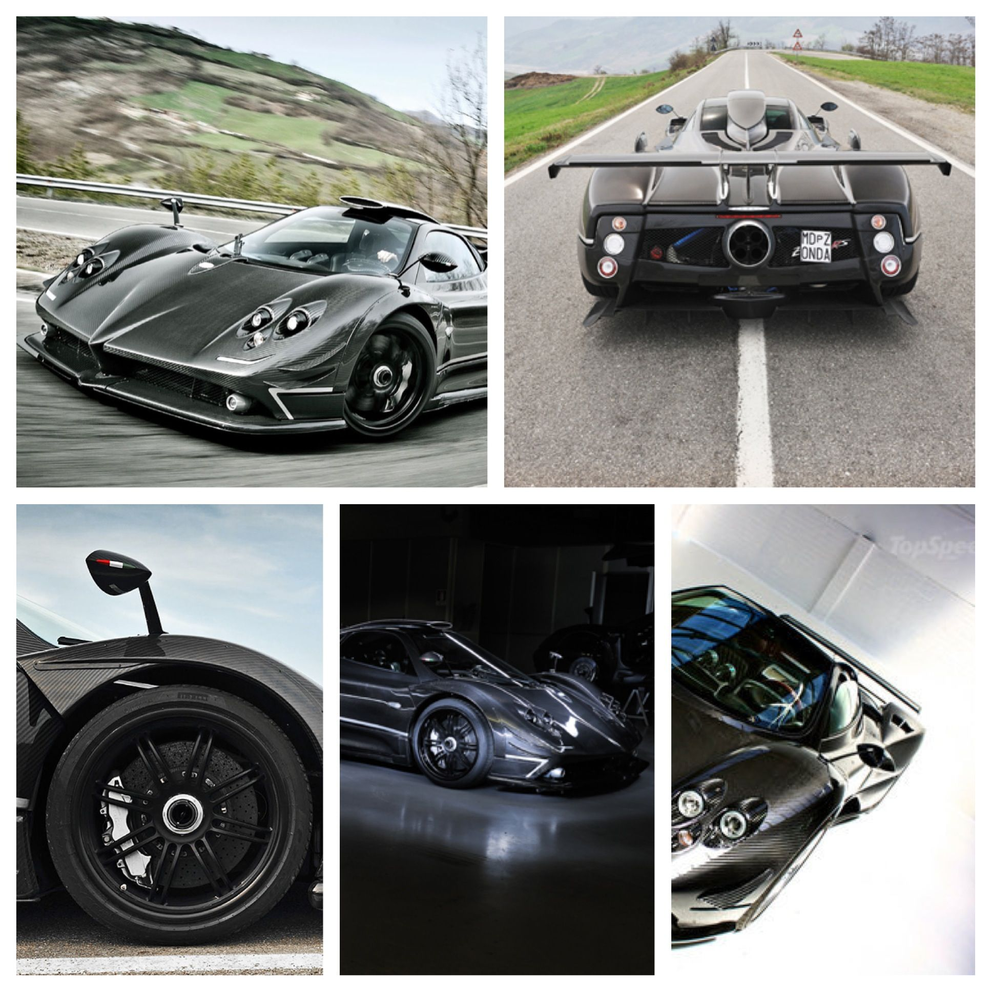 The Awesome Zonda 760 Rs Compilation Carbon Fibre Is Here