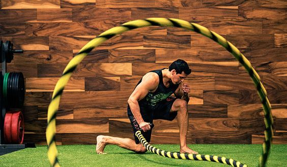 1 Arm Mma Battle Rope Conditioning Workout Onnit Academy Battle Rope Workout Conditioning Workouts Battle Ropes