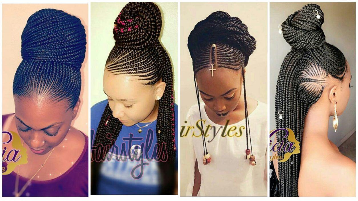 Creative Cornrow Hairstyles The Best Of 2018 Wedding Digest Naija