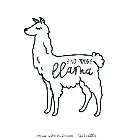 Llama Coloring Page Free Coloring Page Template Printing Printable Llama Coloring Pages For Kids Llama Alpac Cute Animal Tattoos Llama Images Coloring Pages