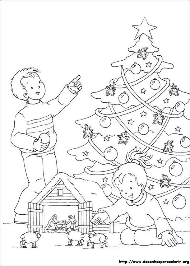 árvores De Natal Para Imprimir E Pintar Cores Do Natal