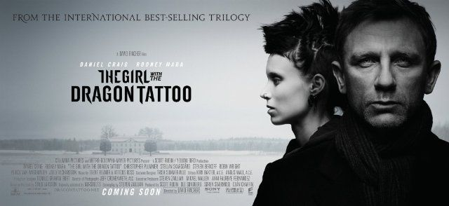 The Girl with the Dragon Tattoo (2011) photos, including production stills, premiere photos and other event photos, publicity photos, behind-the-scenes, and more.