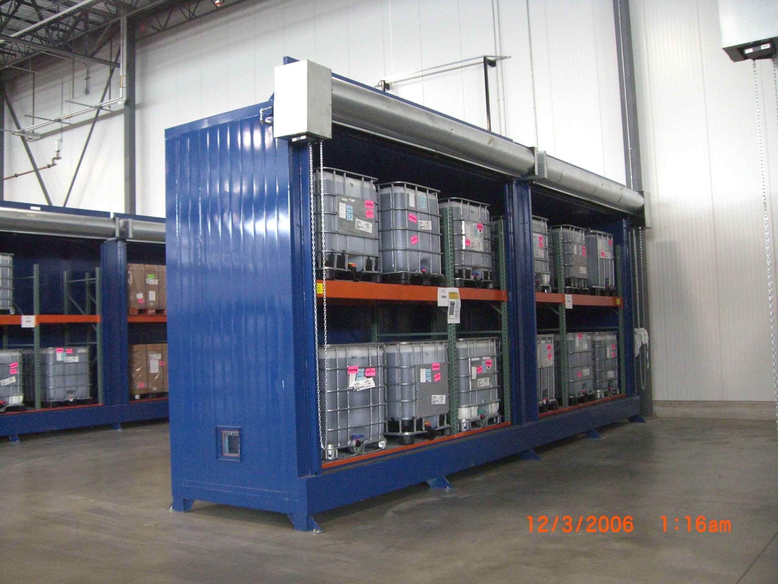 Chemical Storage Cabinets  2 Hour Fire Rated Construction   FM Approved.  Choose Between Single