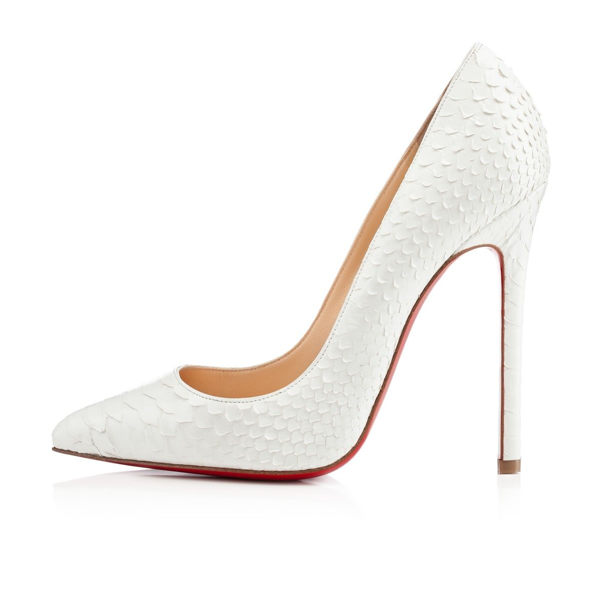 0b280bd1beb Women's White Pigalle Python Crystal | Shoes | Shoes, Louboutin ...